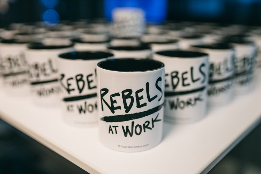 Rebels at Work Breakfast in Berlin bei Axel Springer SE