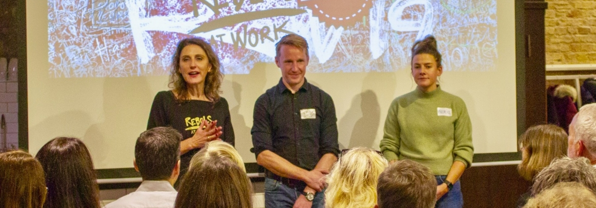 Rebels at Work Premiere: Das erste Afterwork Event bei IXDS in Berlin