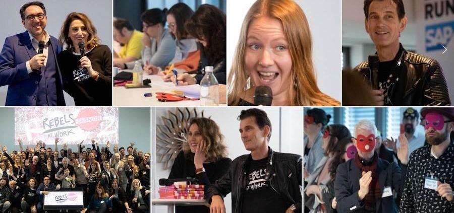 SAP Rebelsastwork Event mit Anja Förster und Peter Kreuz